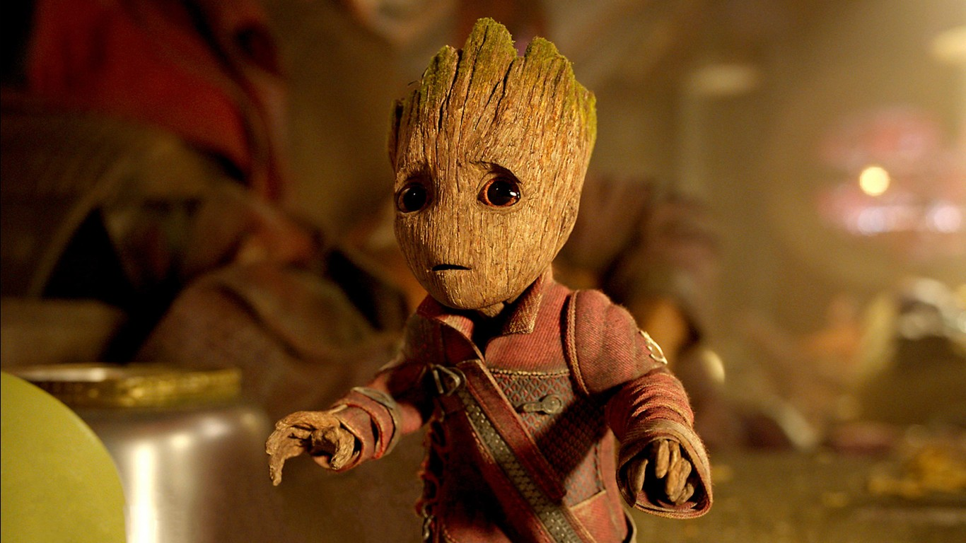 Baby Animals Hd Wallpapers Baby Groot Guardians Of The Galaxy Vol 2 Wallpapers Hd