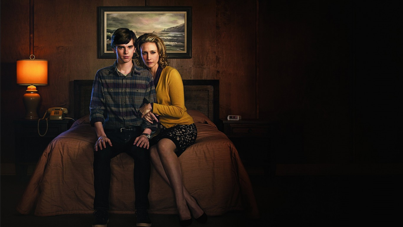 Good Wallpapers For Iphone 5 Bates Motel 2013 Tv Series Wallpapers Hd Wallpapers Id