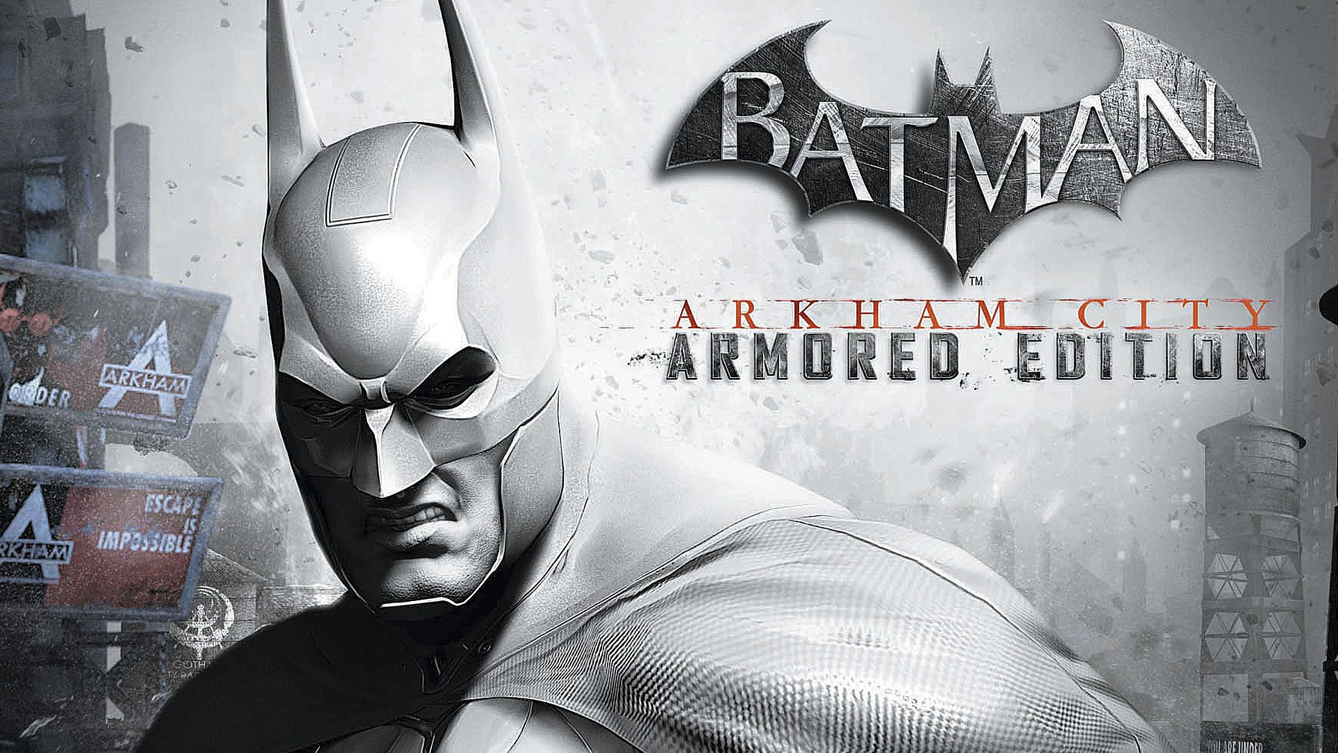 3d Landscape Wallpaper Download Batman Arkham City Armored Edition Wallpapers Hd