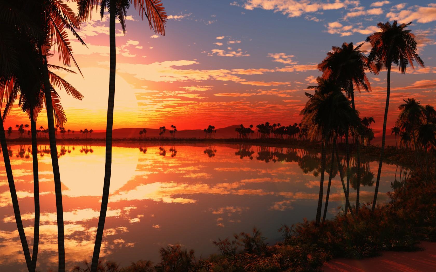 Cute Lock Screen Wallpaper Iphone Beautiful Lake Sunset Wallpapers Hd Wallpapers Id 18052