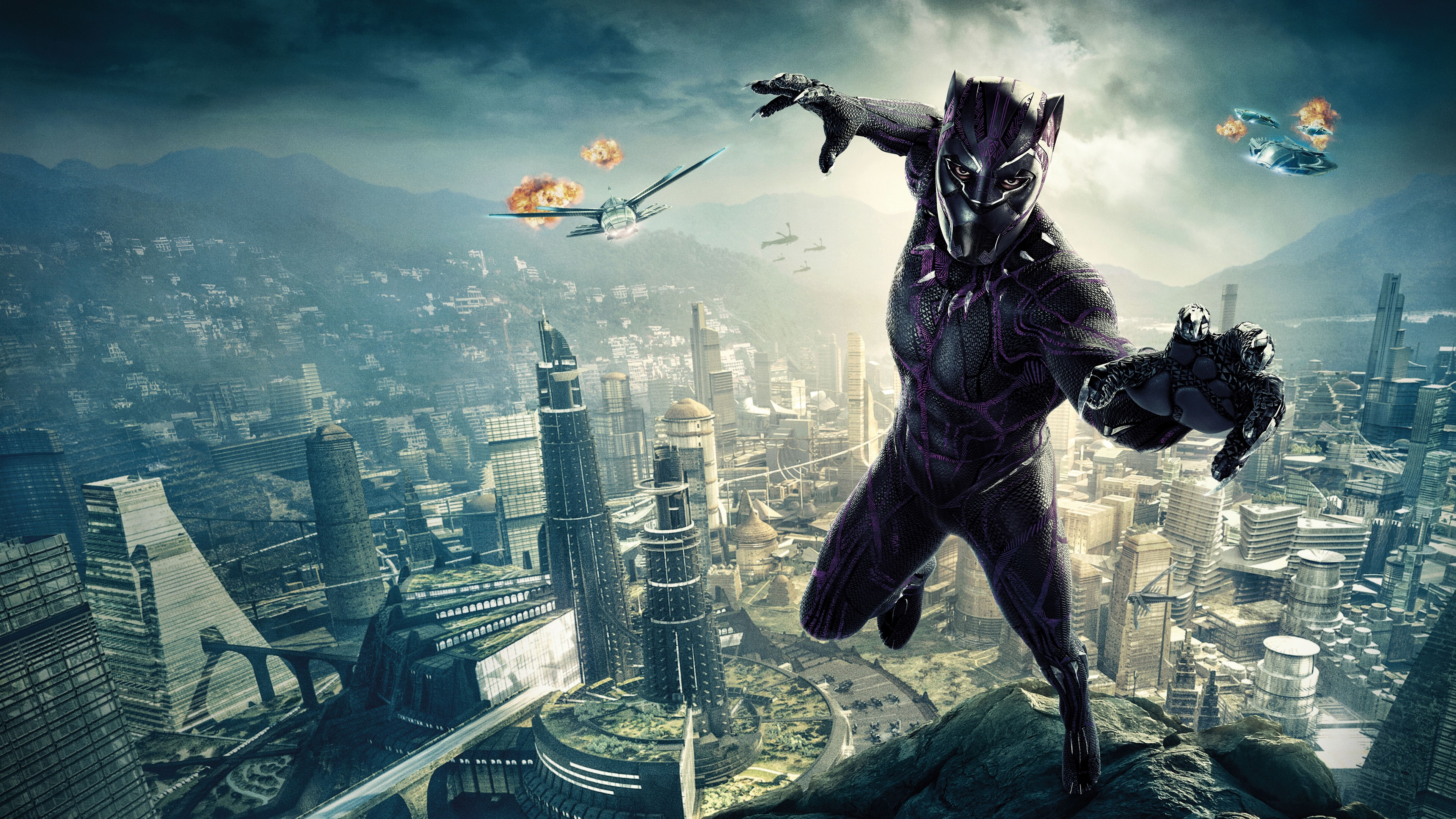 3d Love Wallpapers For Windows 8 Black Panther 4k 8k Wallpapers Hd Wallpapers Id 22918