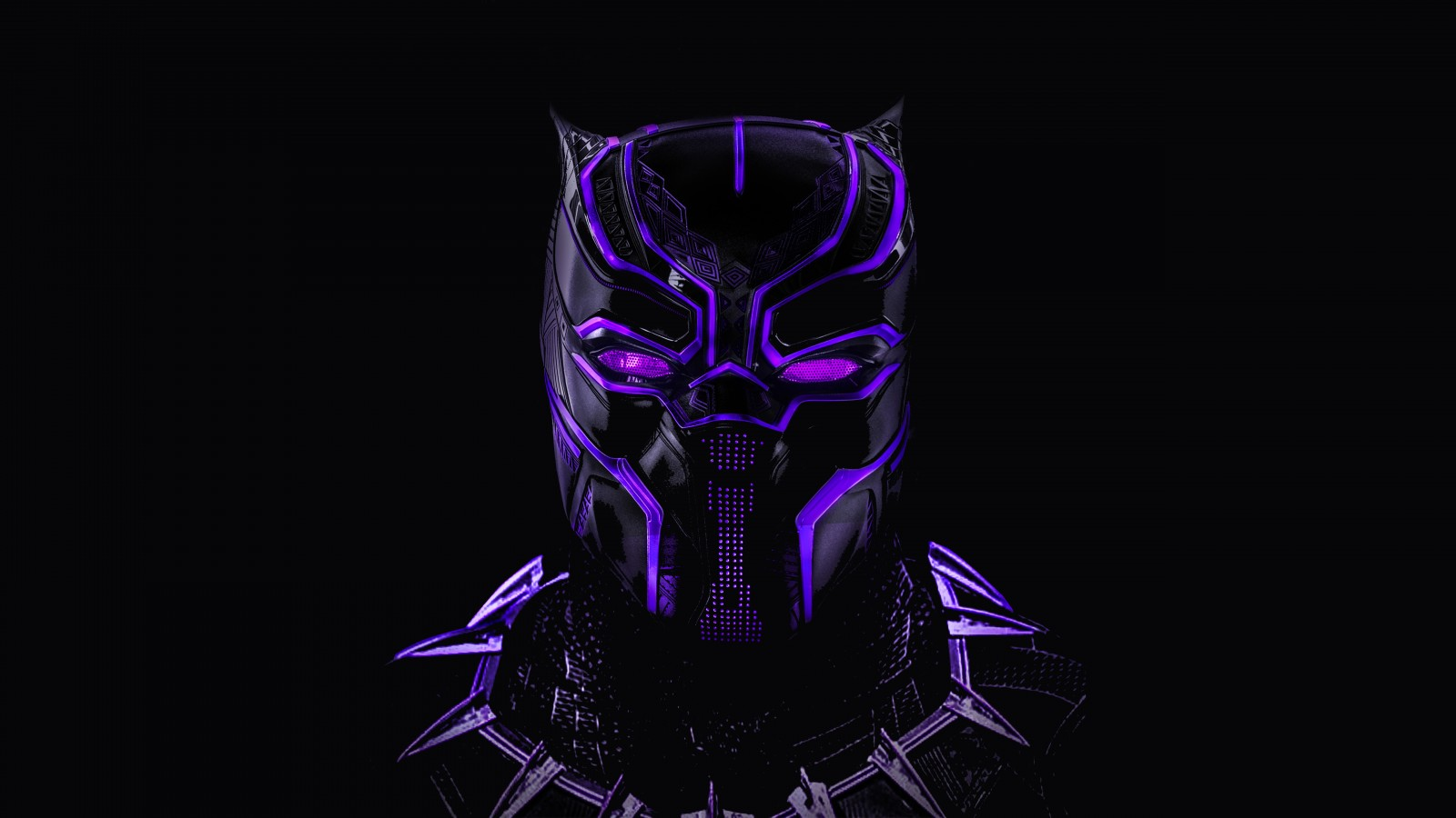 3d Panther Wallpapers Black Panther Neon Artwork 5k Wallpapers Hd Wallpapers