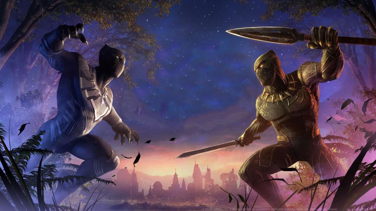 3d Angel Wallpaper Black Panther Vs Erik Killmonger Wallpapers Hd
