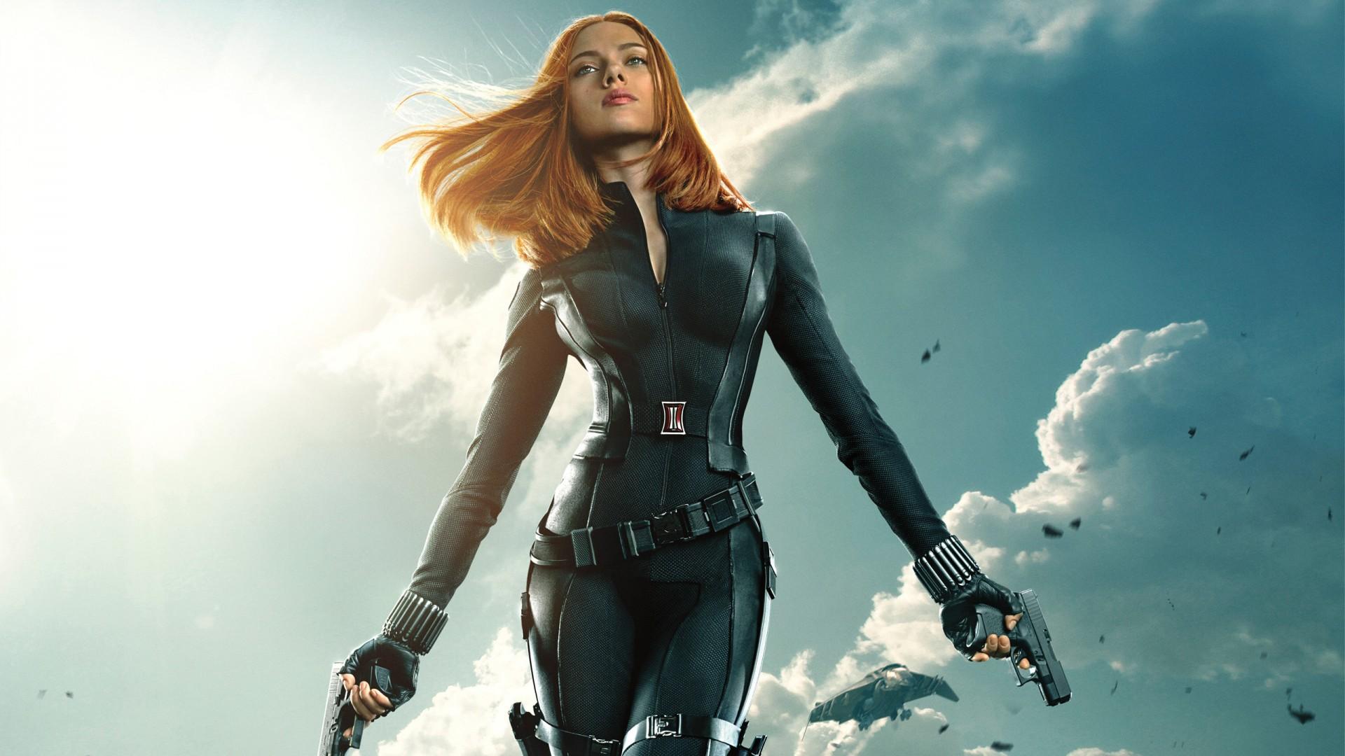 4k Wallpaper Cute League Black Widow Captain America The Winter Soldier Wallpapers