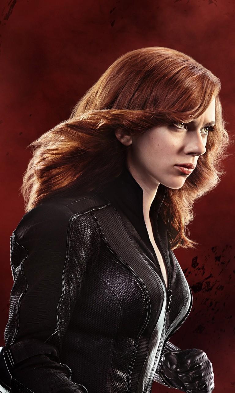 Black Wallpaper Iphone 7 Black Widow Scarlett Johansson Captain America Civil War