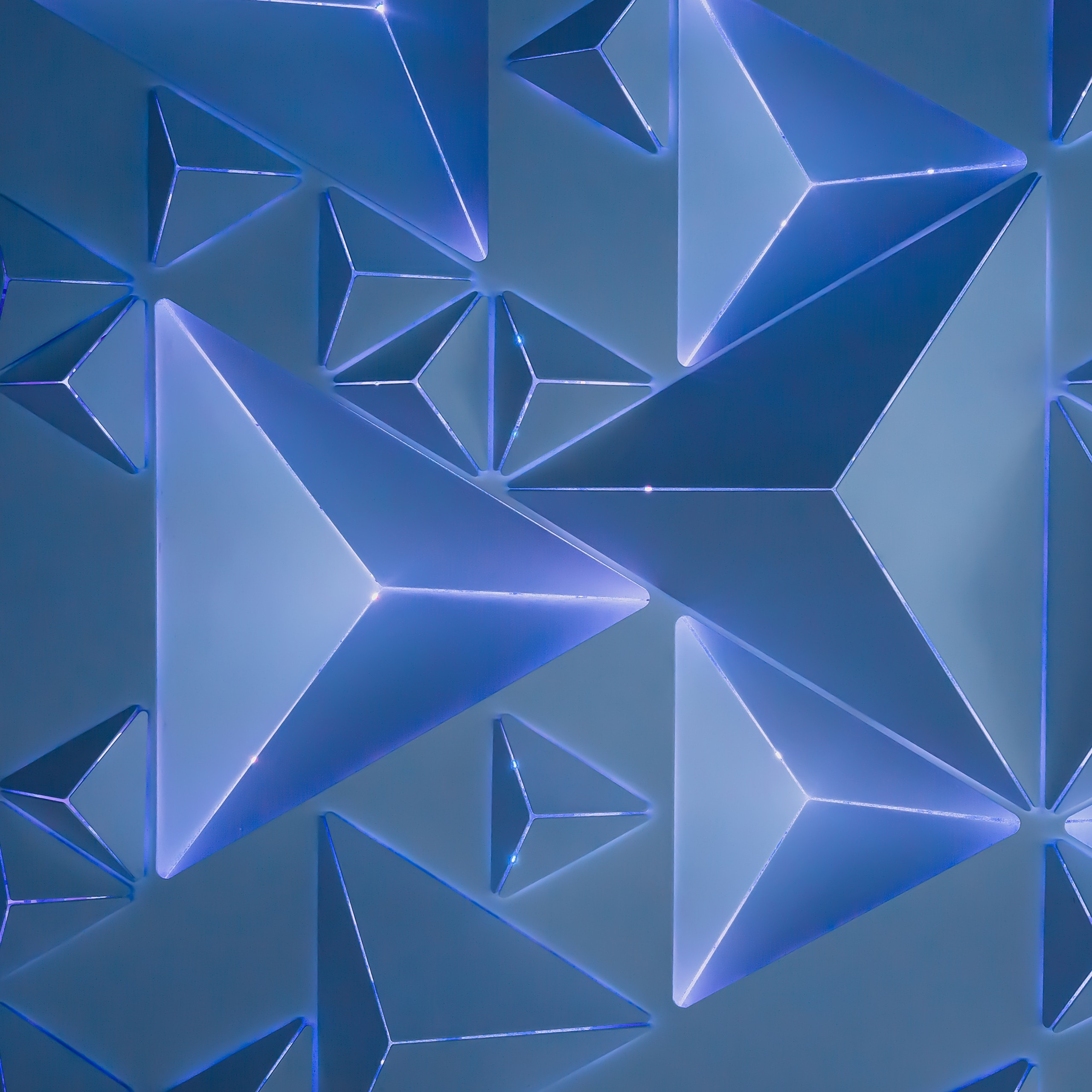 Hd Wallpapers For Windows 7 Download Blue Geometry 4k Wallpapers Hd Wallpapers Id 23780