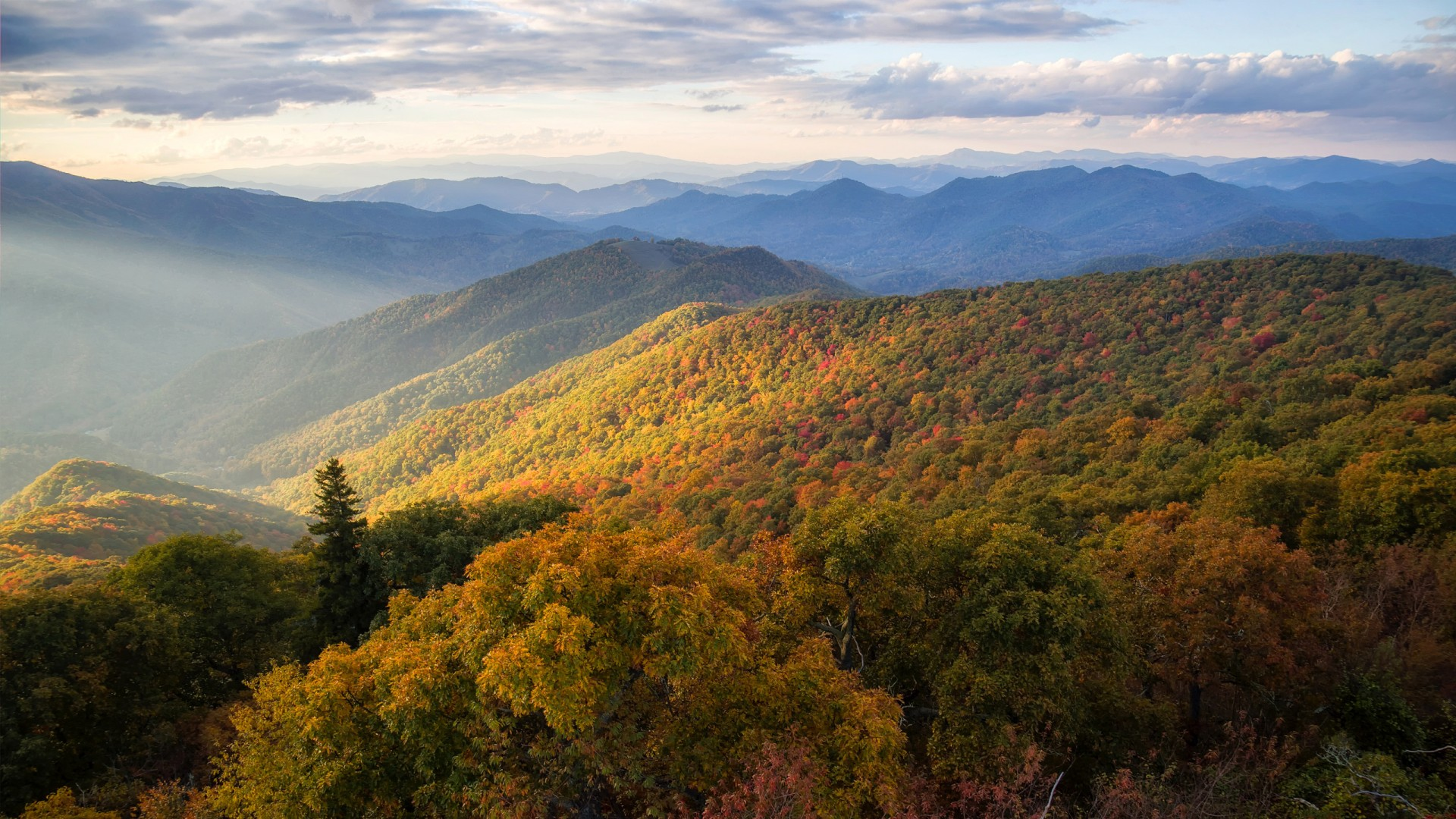 3d Wallpaper For Ipad Retina Blue Ridge Mountains North Carolina Wallpapers Hd