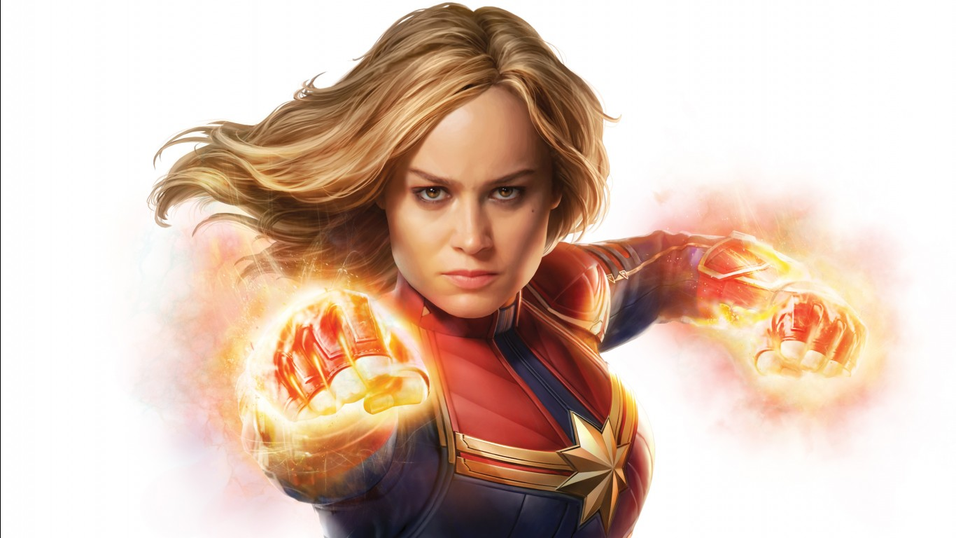 Angry Birds Wallpaper Hd Iphone Brie Larson As Captain Marvel 4k Wallpapers Hd