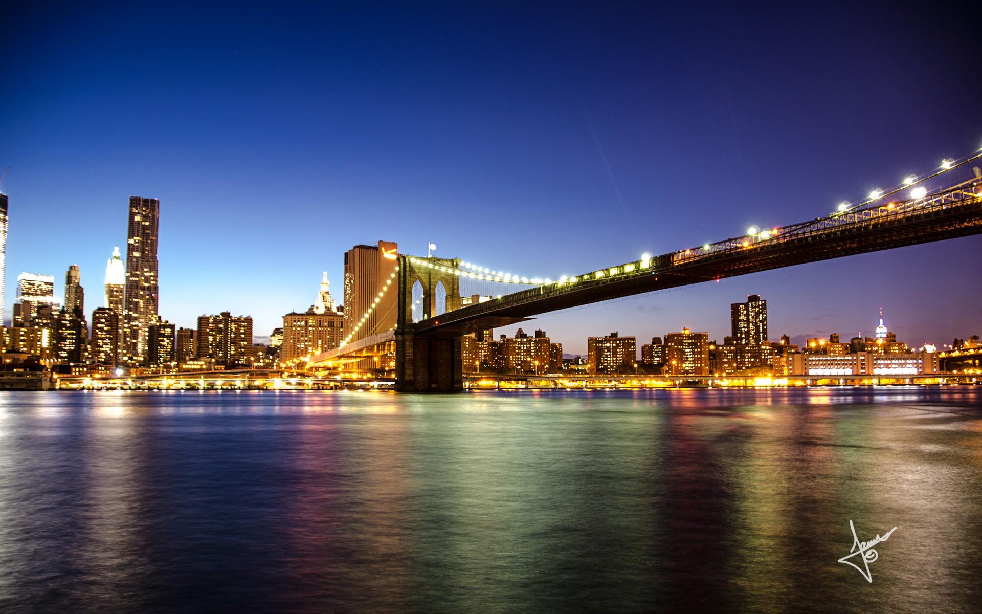 New York Iphone Wallpaper Brooklyn Bridge New York Wallpapers Hd Wallpapers Id