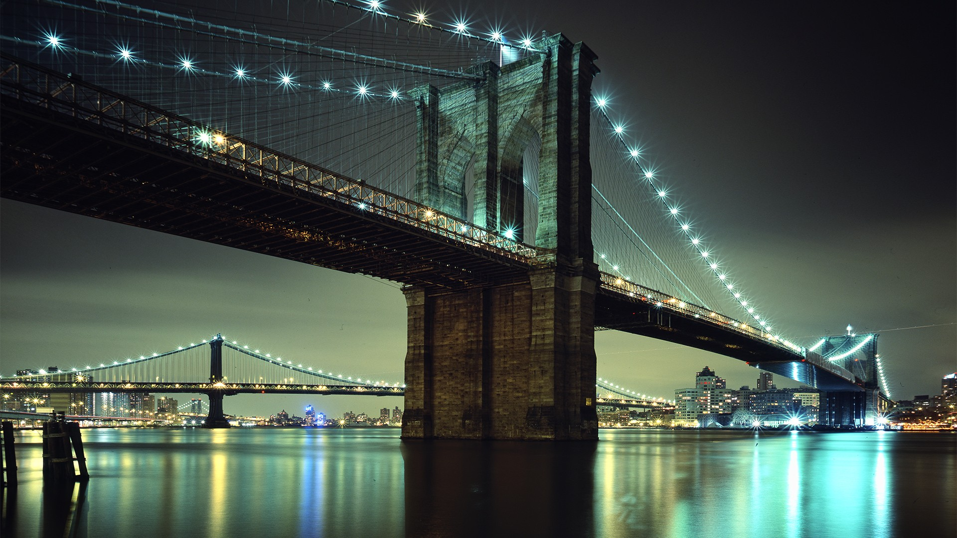 3d Wallpaper Of Cars Download Brooklyn Bridge Nyc Wallpapers Hd Wallpapers Id 10480
