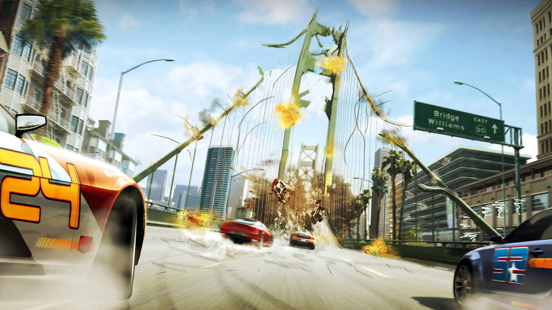 Iphone 5 Superman Wallpaper Burnout Paradise Race Wallpapers Hd Wallpapers Id 9836