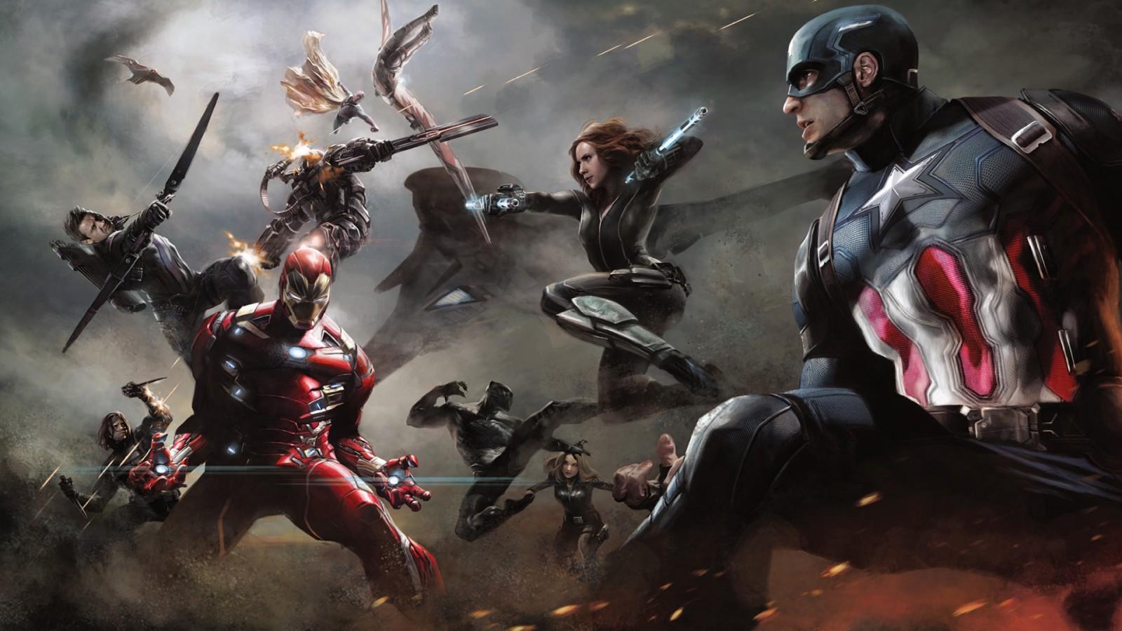 3d Music Wallpaper Hd Captain America Civil War Artwork Wallpapers Hd