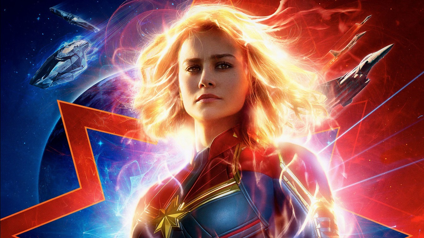 Download Wallpaper Iphone 5s Captain Marvel 2019 4k Wallpapers Hd Wallpapers Id 26844