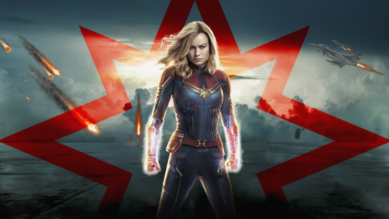 Marvel Iphone Wallpaper Hd Captain Marvel 4k 8k 2019 Wallpapers Hd Wallpapers Id