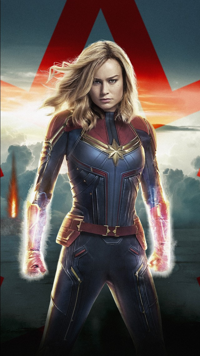 Iphone 5s Animated Wallpaper Captain Marvel 4k 8k 2019 Wallpapers Hd Wallpapers Id