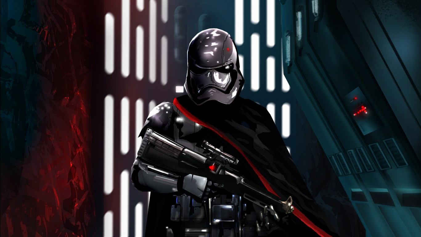 Cute Wallpapers For Iphone 5s Captain Phasma 5k Wallpapers Hd Wallpapers Id 22665