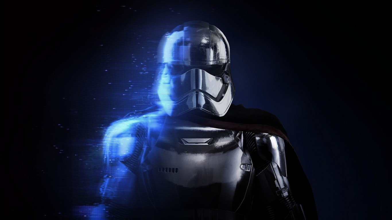 Wallpaper 3d Nature 1280x1024 Captain Phasma Star Wars Battlefront Ii Wallpapers Hd