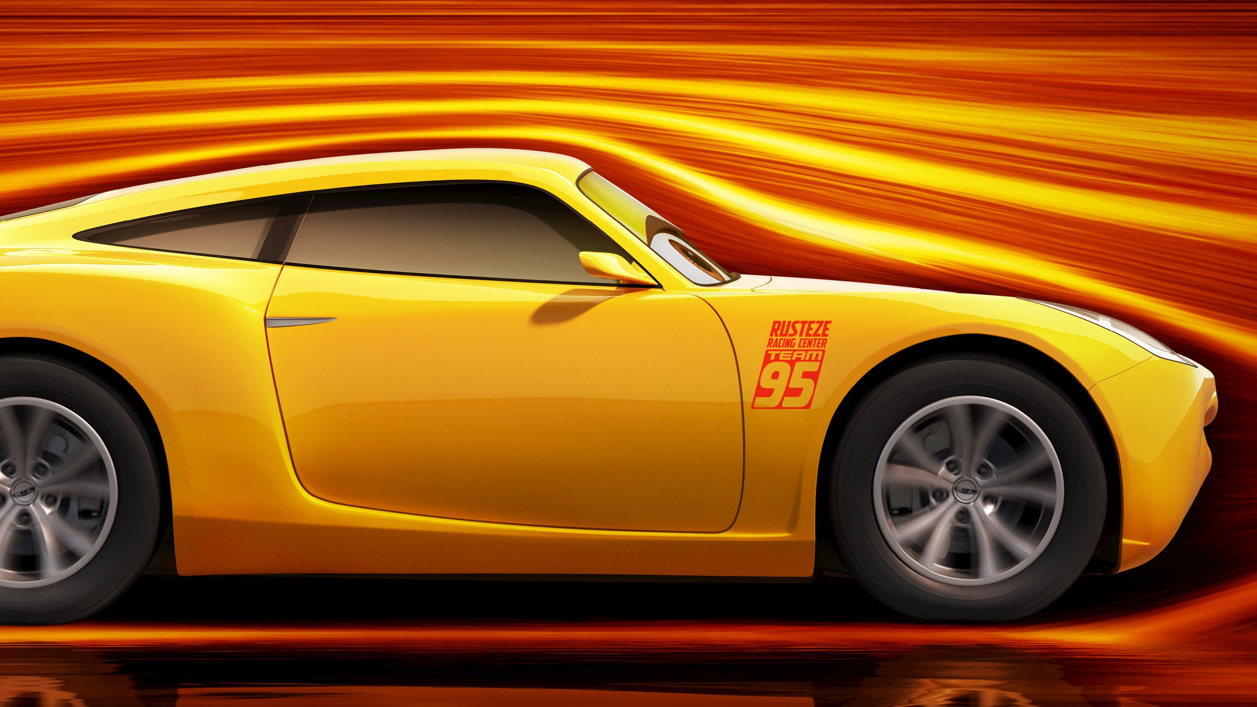 Girl 3 Monitor Wallpaper Cars 3 Cruz Ramirez Wallpapers Hd Wallpapers Id 19961
