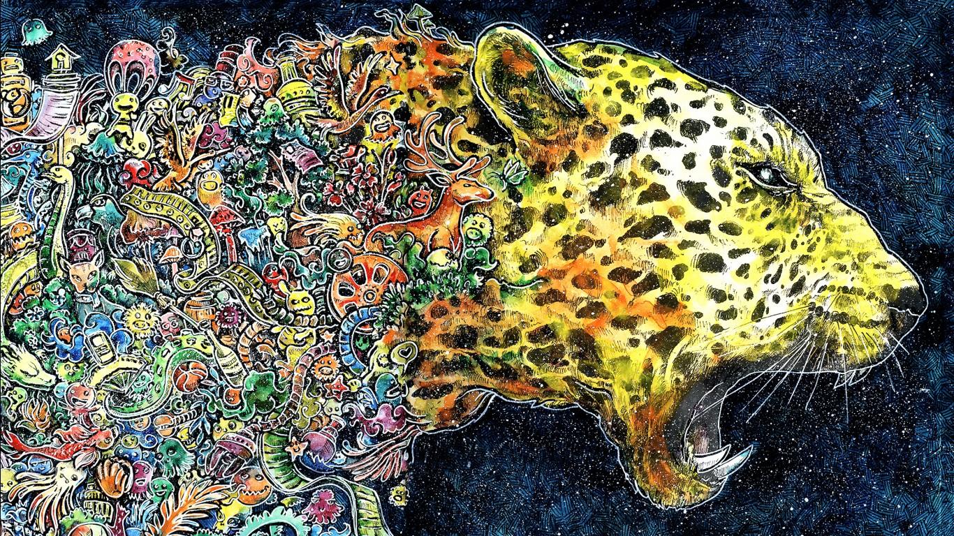 Hd 3d Wallpapers 1080p Widescreen Cheetah Artwork Wallpapers Hd Wallpapers Id 23769