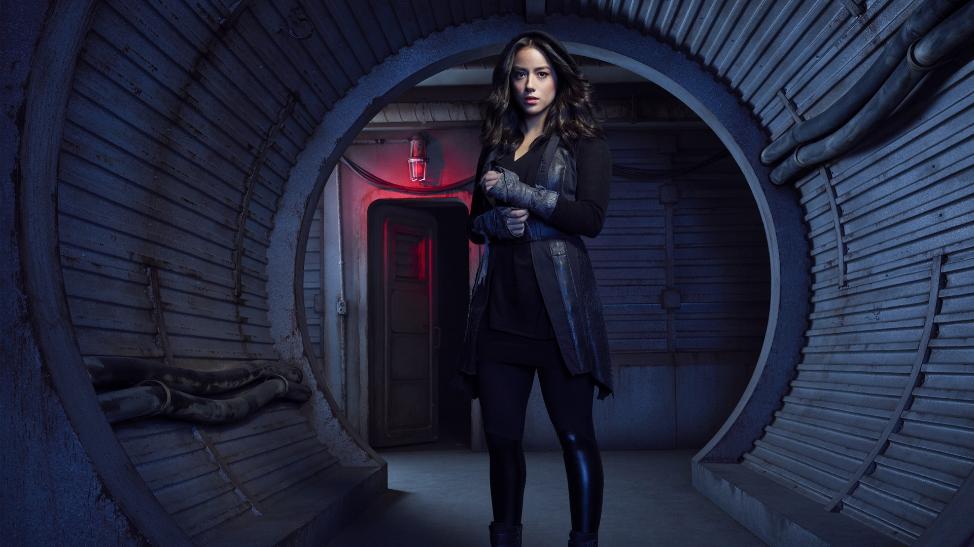 Original Iphone Wallpaper Earth Chloe Bennet As Daisy Johnson Agents Of Shield Season 5