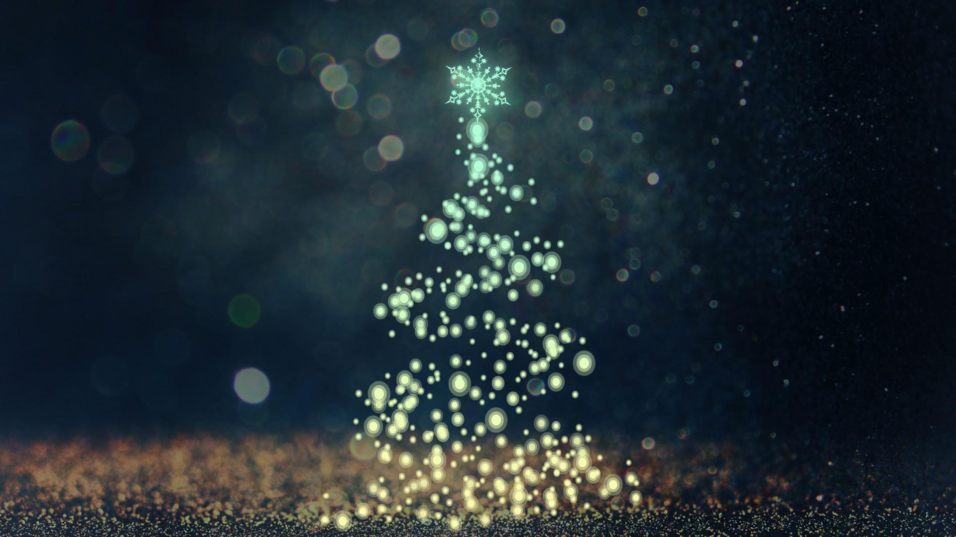 Cute Beach Desktop Wallpaper Christmas Tree Bokeh Wallpapers Hd Wallpapers Id 19271