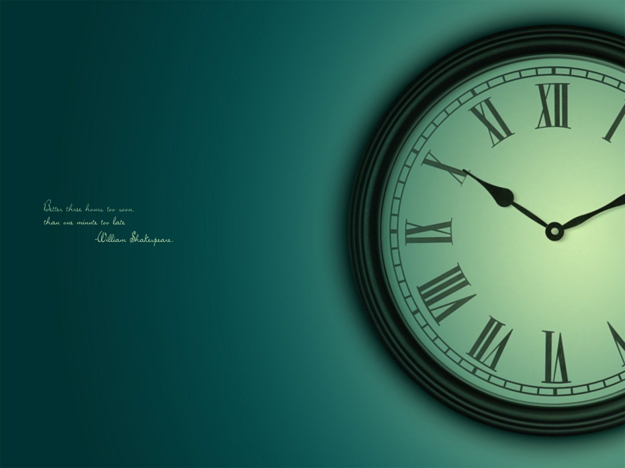 Hd Quote Wallpapers For Laptop Clock Wallpapers Hd Wallpapers Id 12152