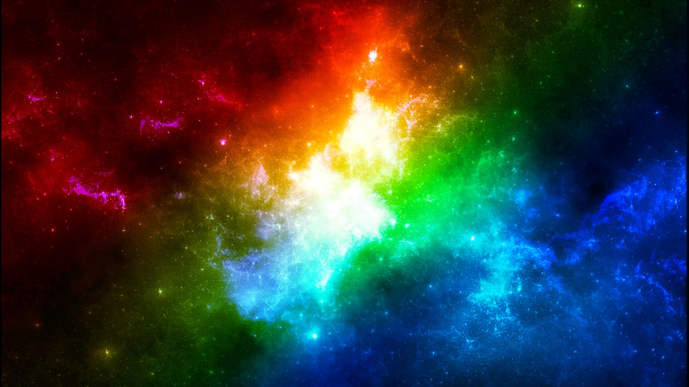 Cute Love Abstract Wallpaper Colors In Space Wallpapers Hd Wallpapers Id 10690