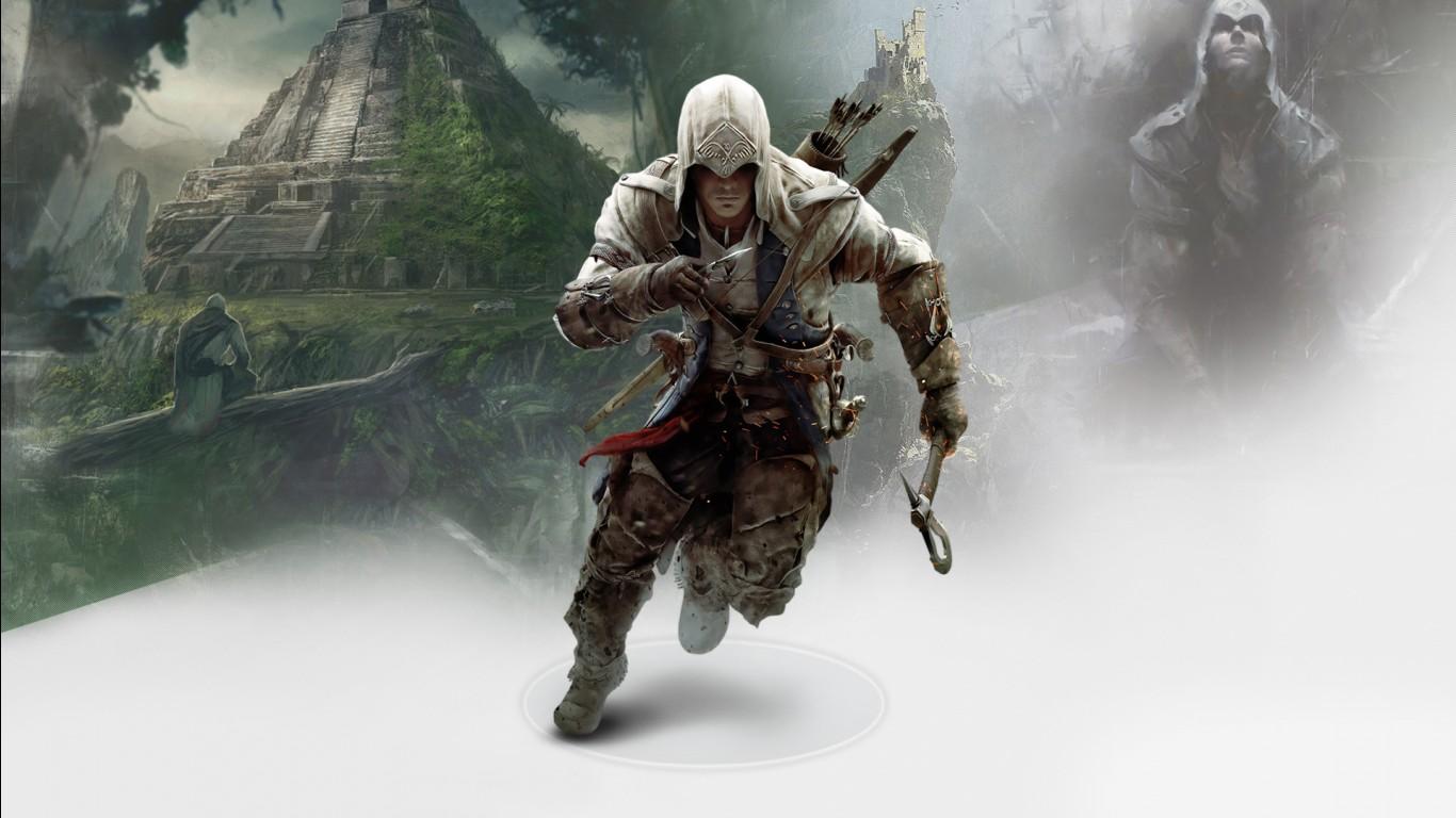 Tekken 6 3d Wallpapers Connor In Assassin S Creed 3 Wallpapers Hd Wallpapers