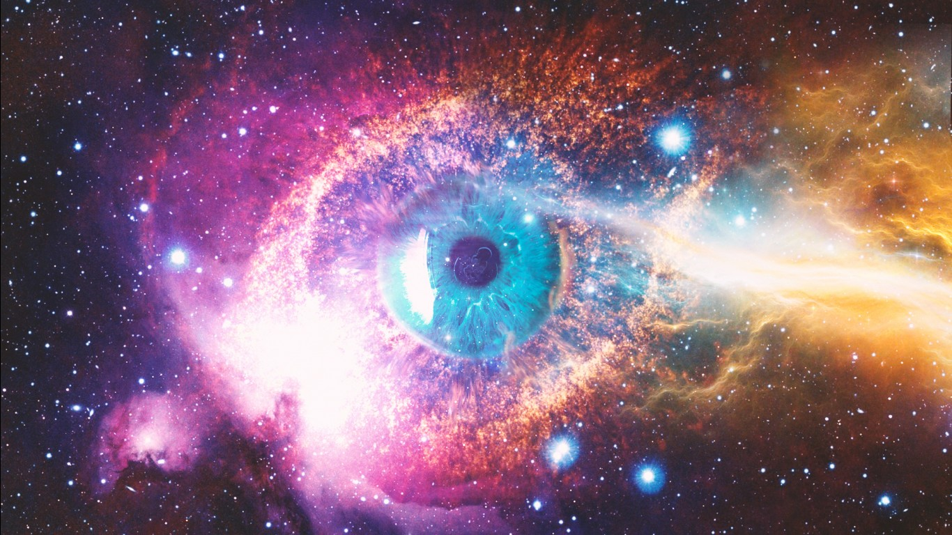 Nebula Wallpaper Hd Cosmic Space Eye Wallpapers Hd Wallpapers Id 24169