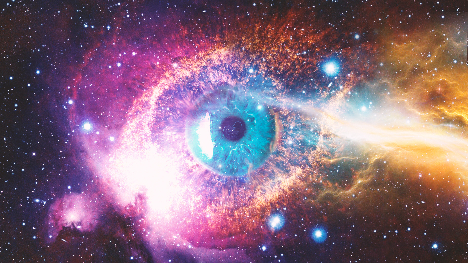 Free Download Wallpaper 3d Windows 7 Cosmic Space Eye Wallpapers Hd Wallpapers Id 24169