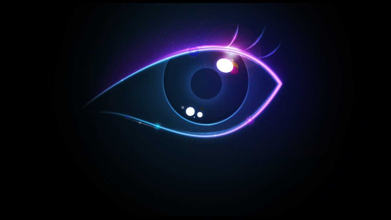 Alienware Iphone Wallpaper Creative Colorful Eye Wallpapers Hd Wallpapers Id 6495