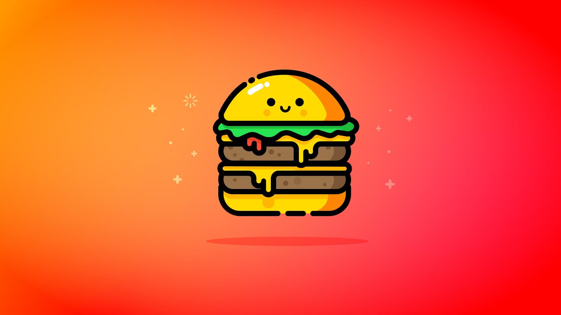 Cute Baby Boy Full Hd Wallpaper Cute Double Cheeese Burger 5k Wallpapers Hd Wallpapers