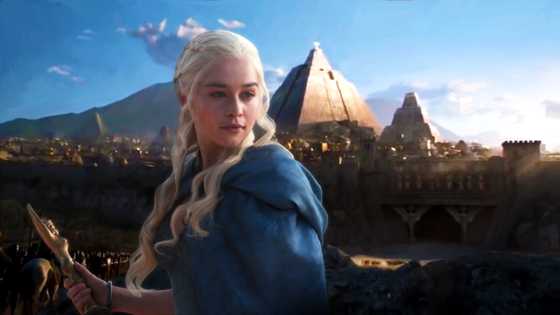 Marvel Iphone Wallpaper Daenerys Targaryen Season 5 Wallpapers Hd Wallpapers