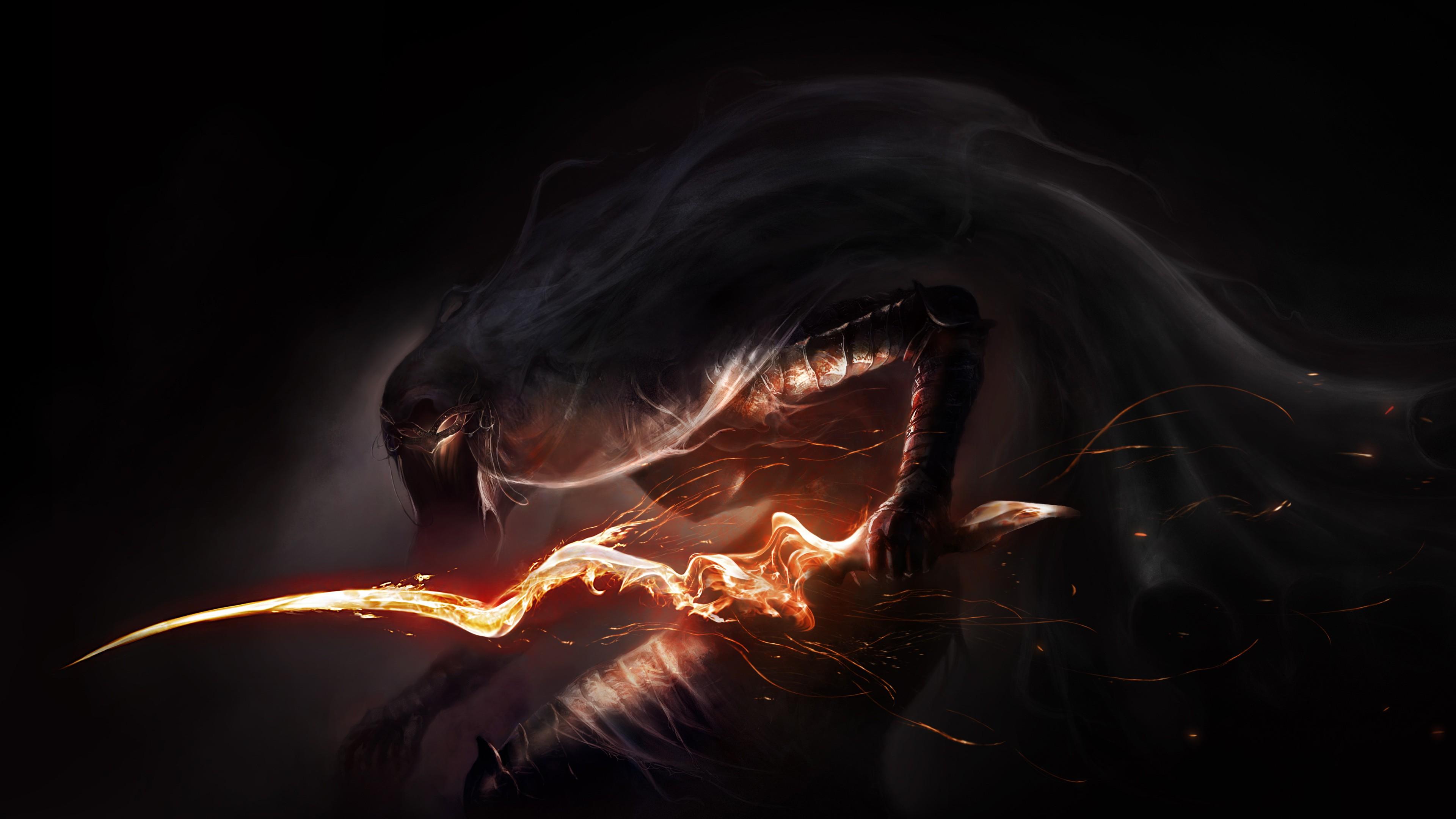 Total War Warhammer Wallpaper Hd Dark Souls Iii Monster Concept Wallpapers Hd Wallpapers