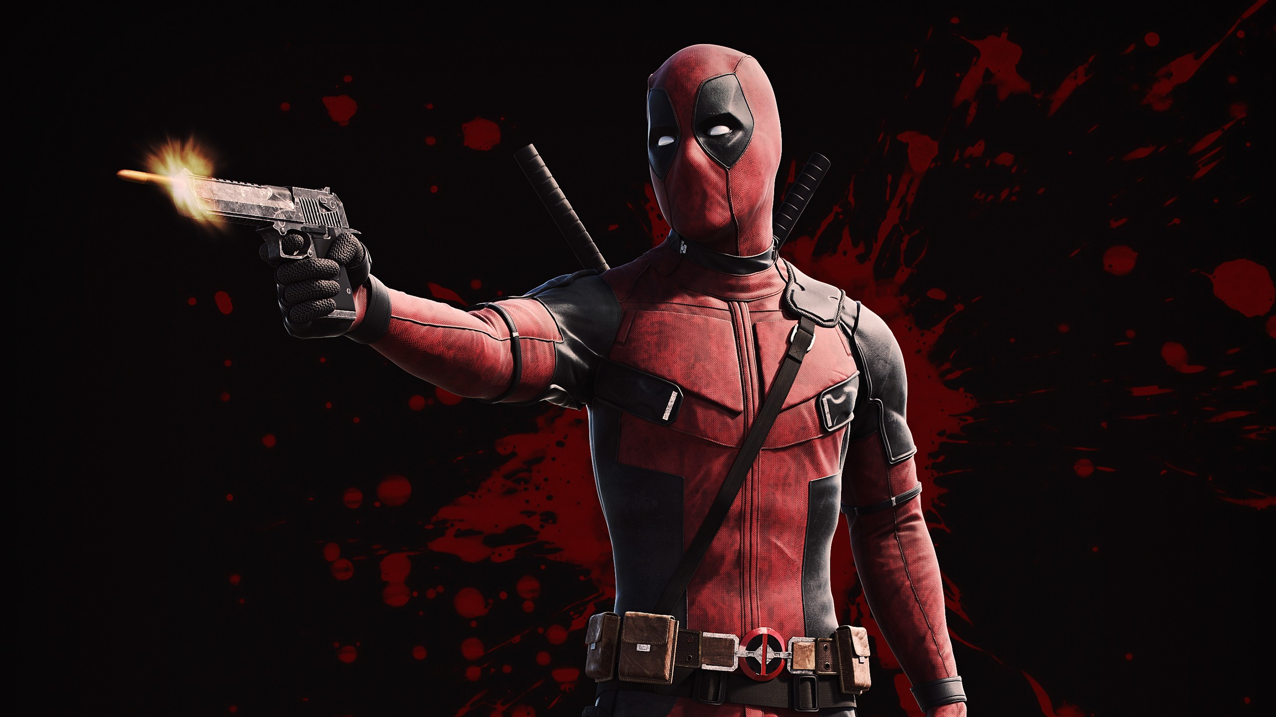 3d Colourful Wallpaper Deadpool Wallpapers Hd Wallpapers Id 24787