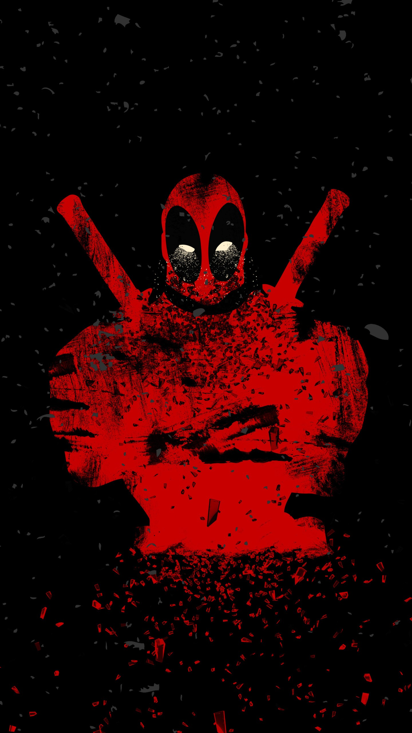 Why So Serious Wallpaper Iphone 6 Deadpool Artwork Wallpapers Hd Wallpapers Id 22778