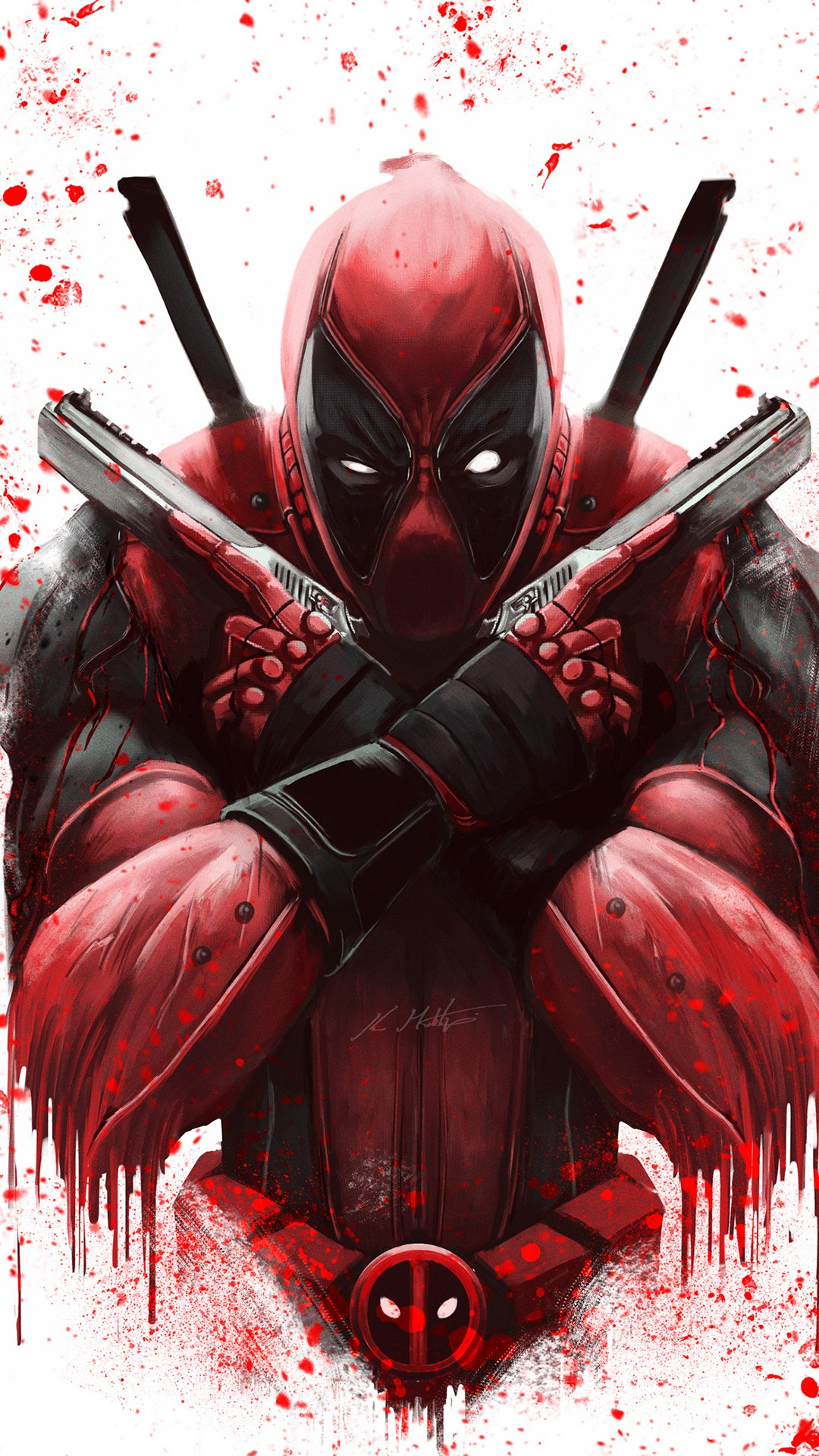 Deadpool Hd Wallpaper Iphone 6 Deadpool Artwork 4k Wallpapers Hd Wallpapers Id 24096