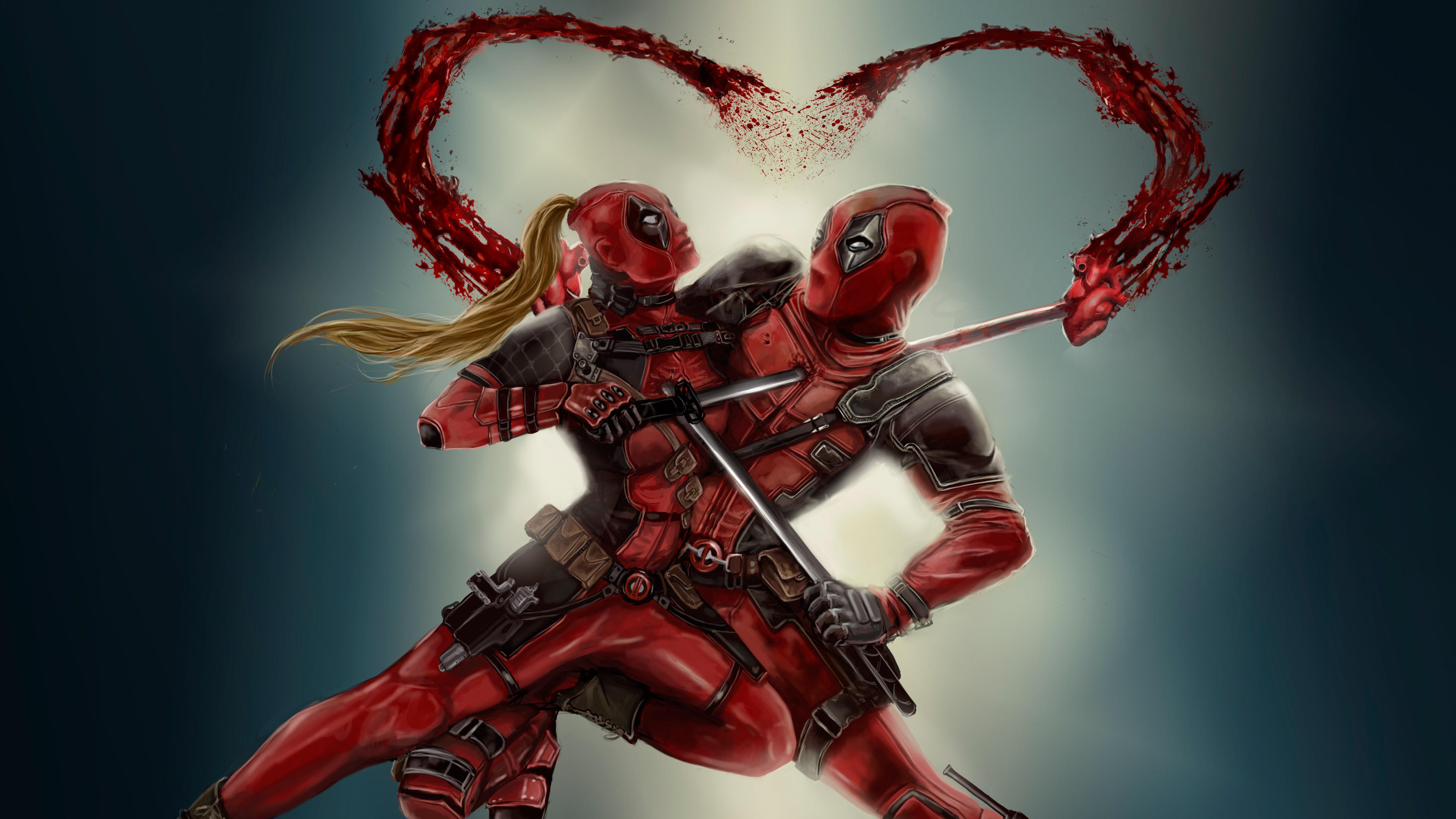 Spiderman Wallpaper 3d Hd Deadpool Couple 4k Wallpapers Hd Wallpapers Id 24563