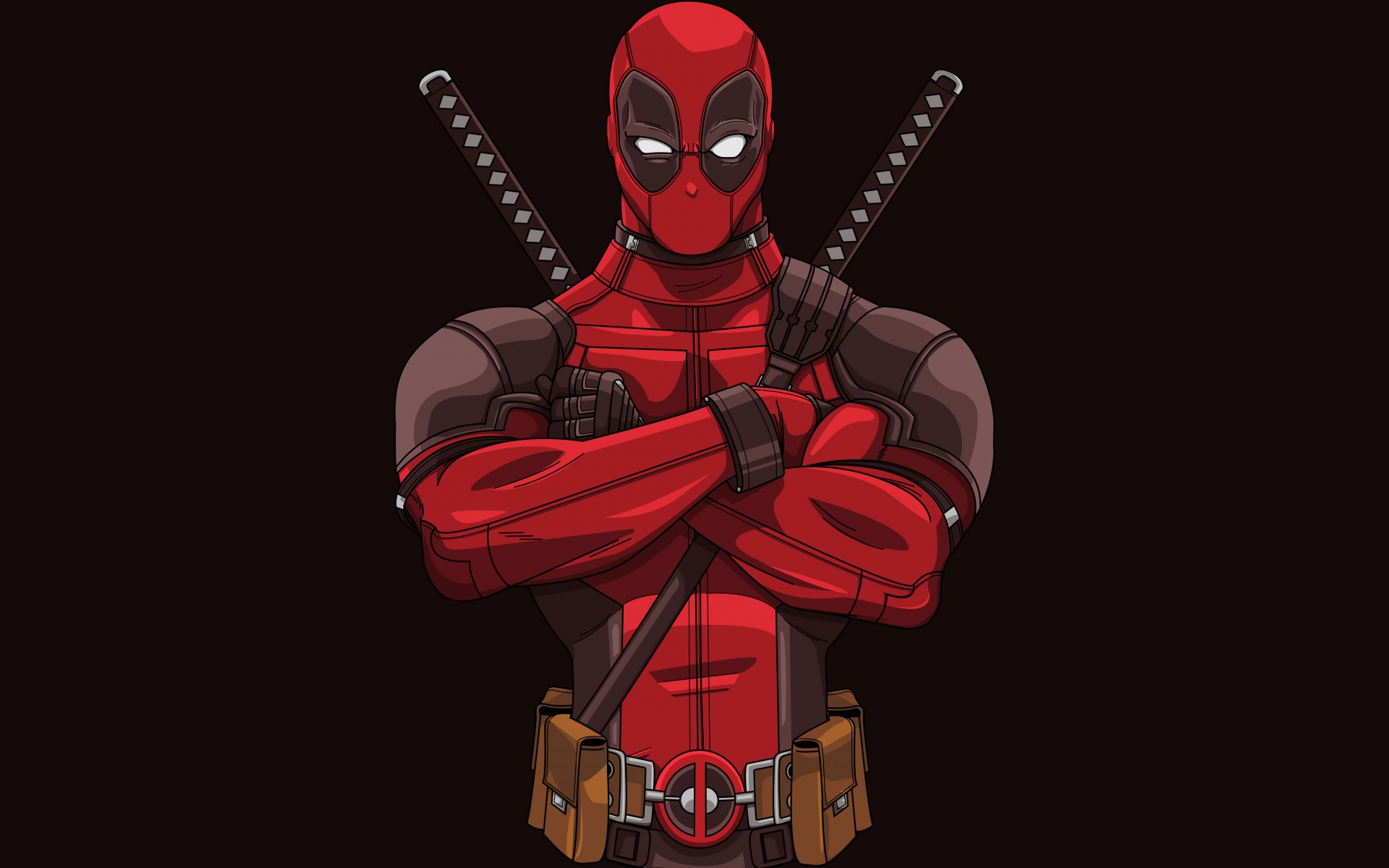 How To Download Live Wallpapers For Iphone Deadpool Minimal Artwork 4k 8k Wallpapers Hd Wallpapers