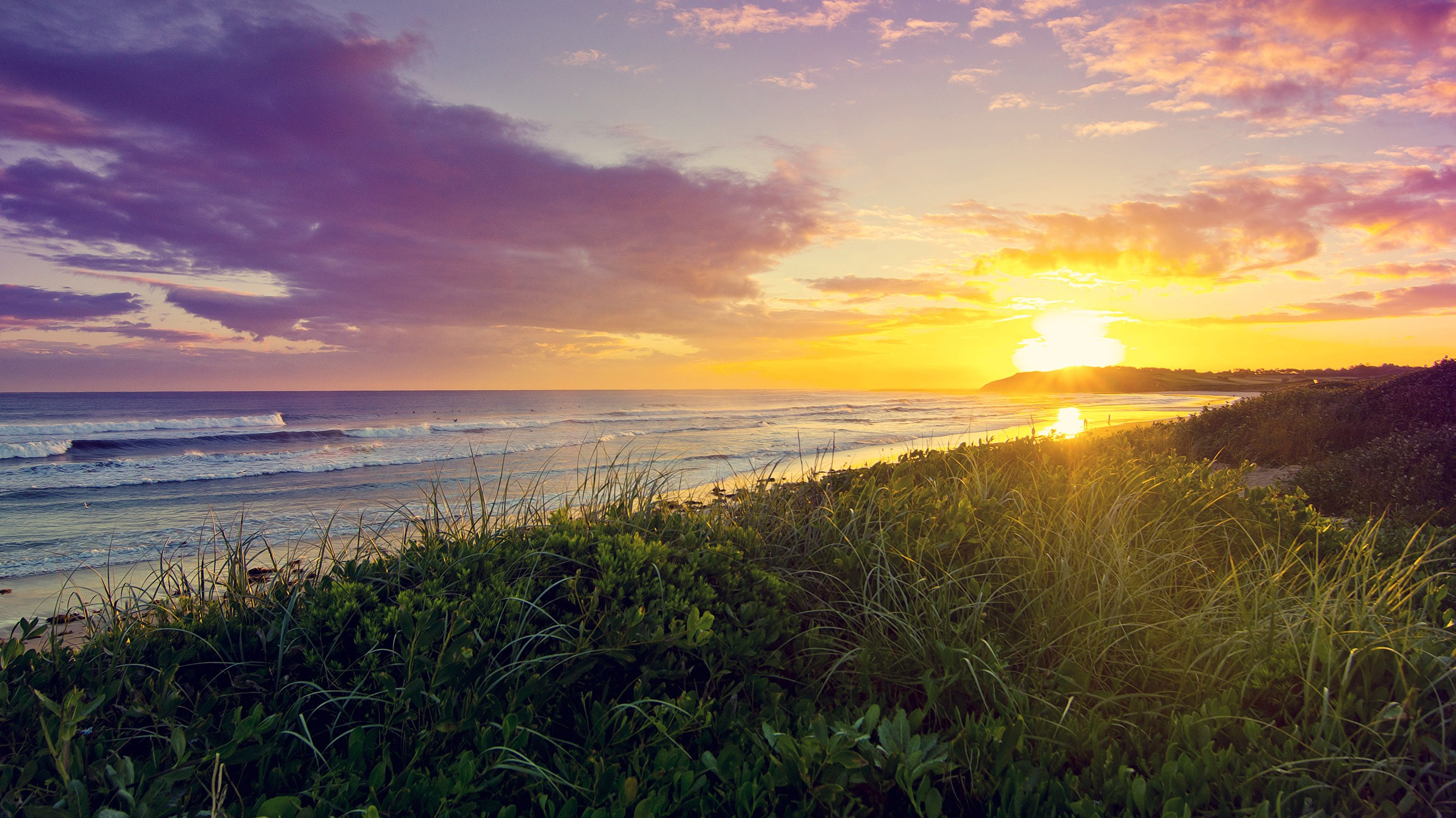 Green Bay Iphone 5 Wallpaper Dee Why Beach Sunrise Wallpapers Hd Wallpapers Id 14624