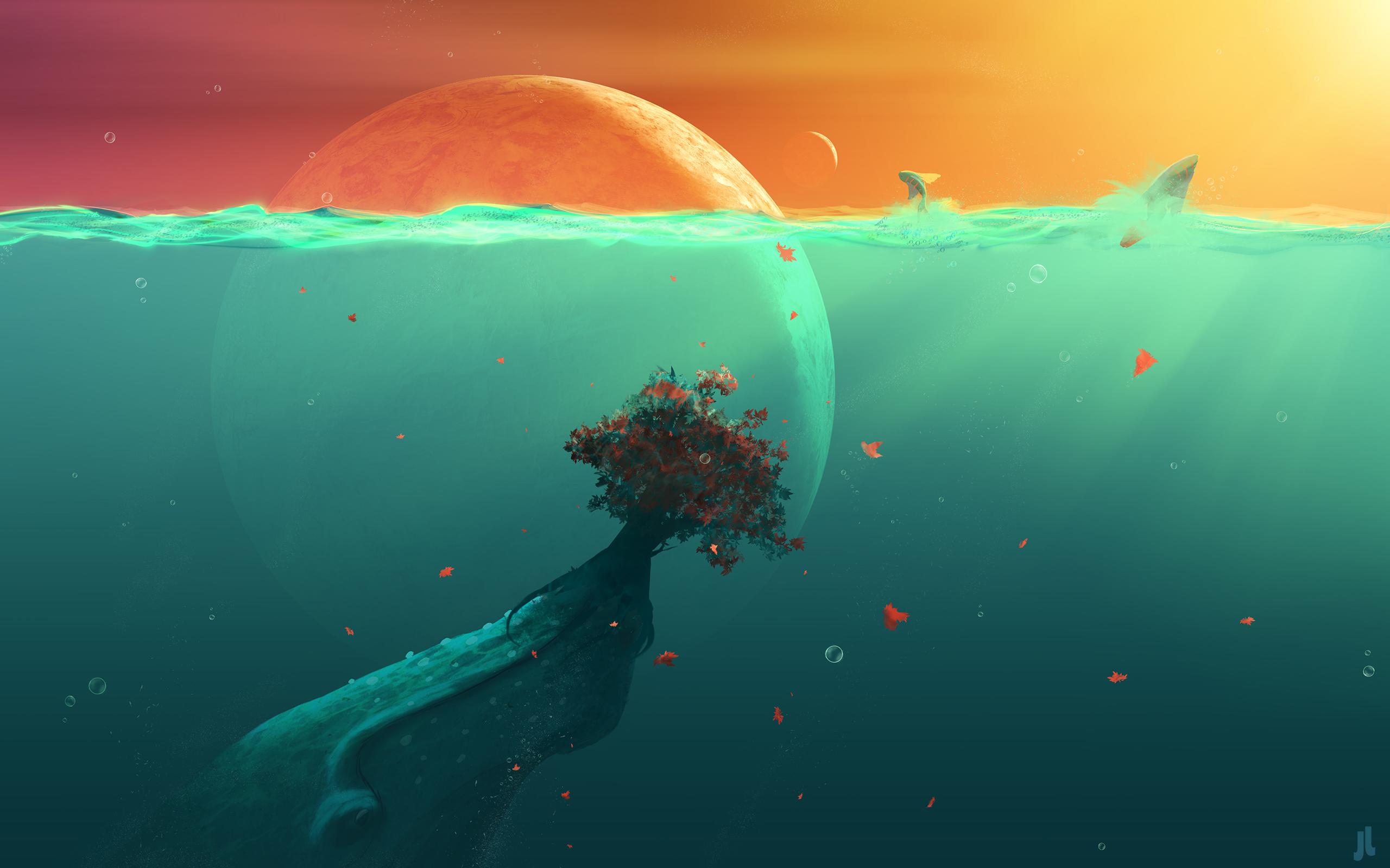 Cute Fish Iphone Wallpaper Deep Ocean Planet Fish Wallpapers Hd
