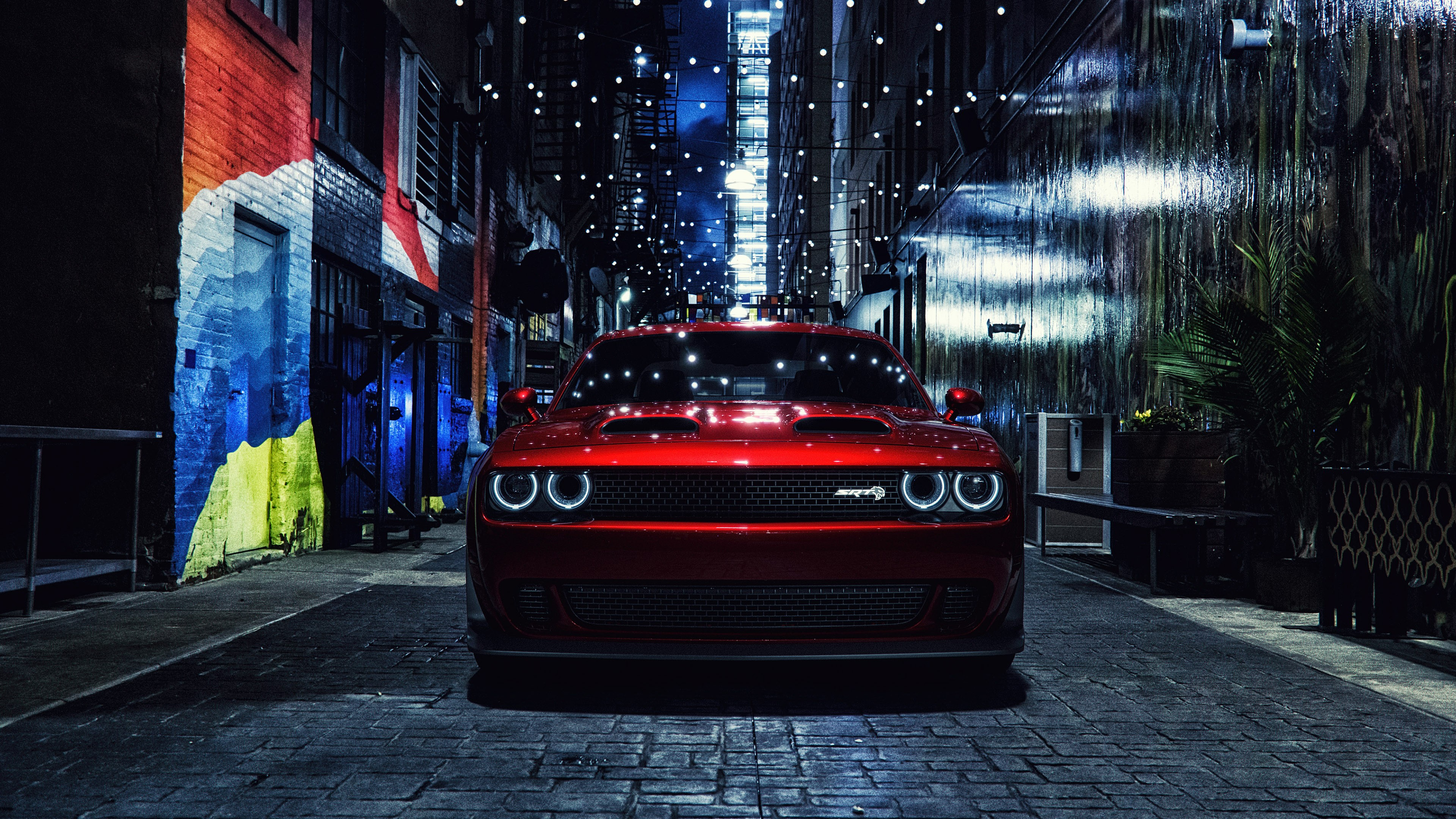 Hd Wallpapers Cars Ferrari Dodge Challenger Srt 4k Wallpapers Hd Wallpapers Id 27020