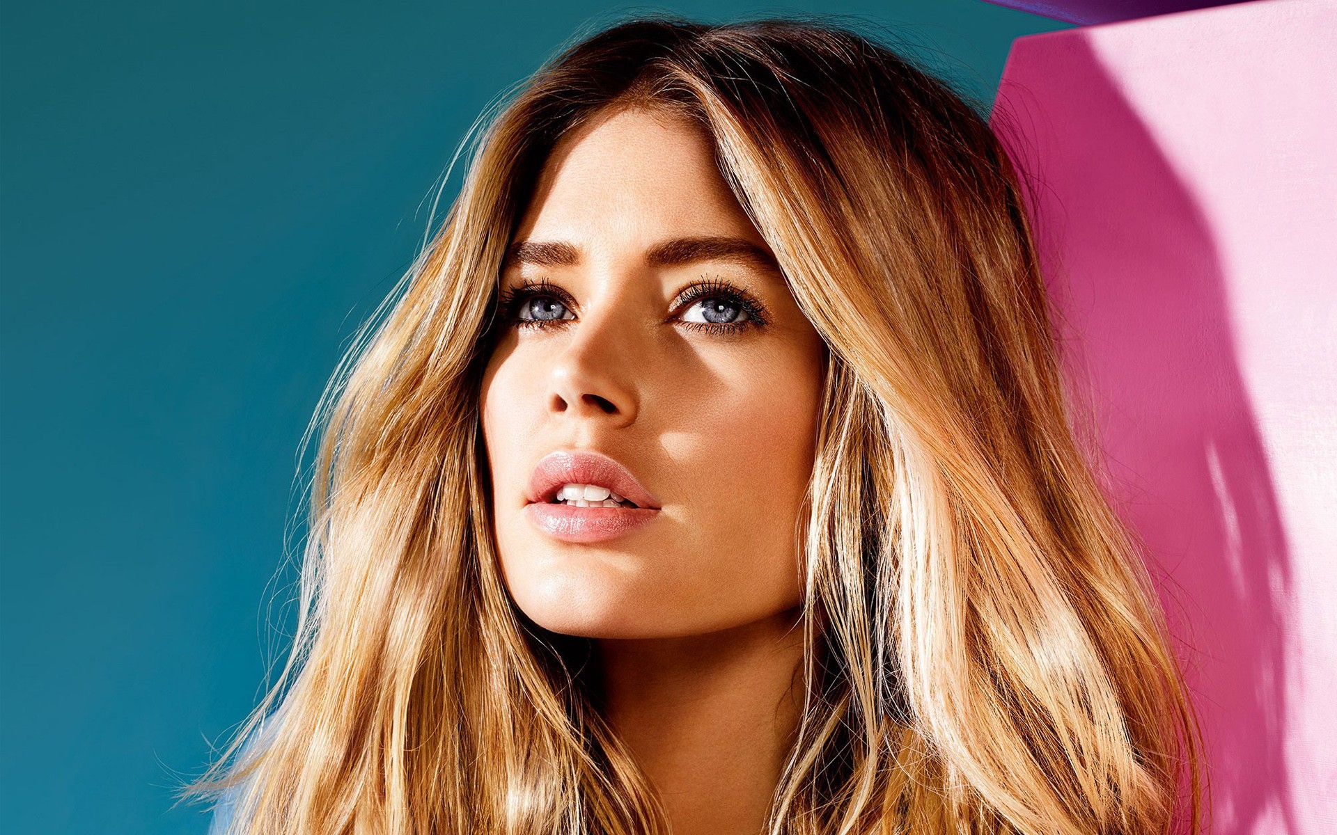 Cute Girl Eyes Wallpaper Doutzen Kroes Dutch Model Wallpapers Hd Wallpapers Id