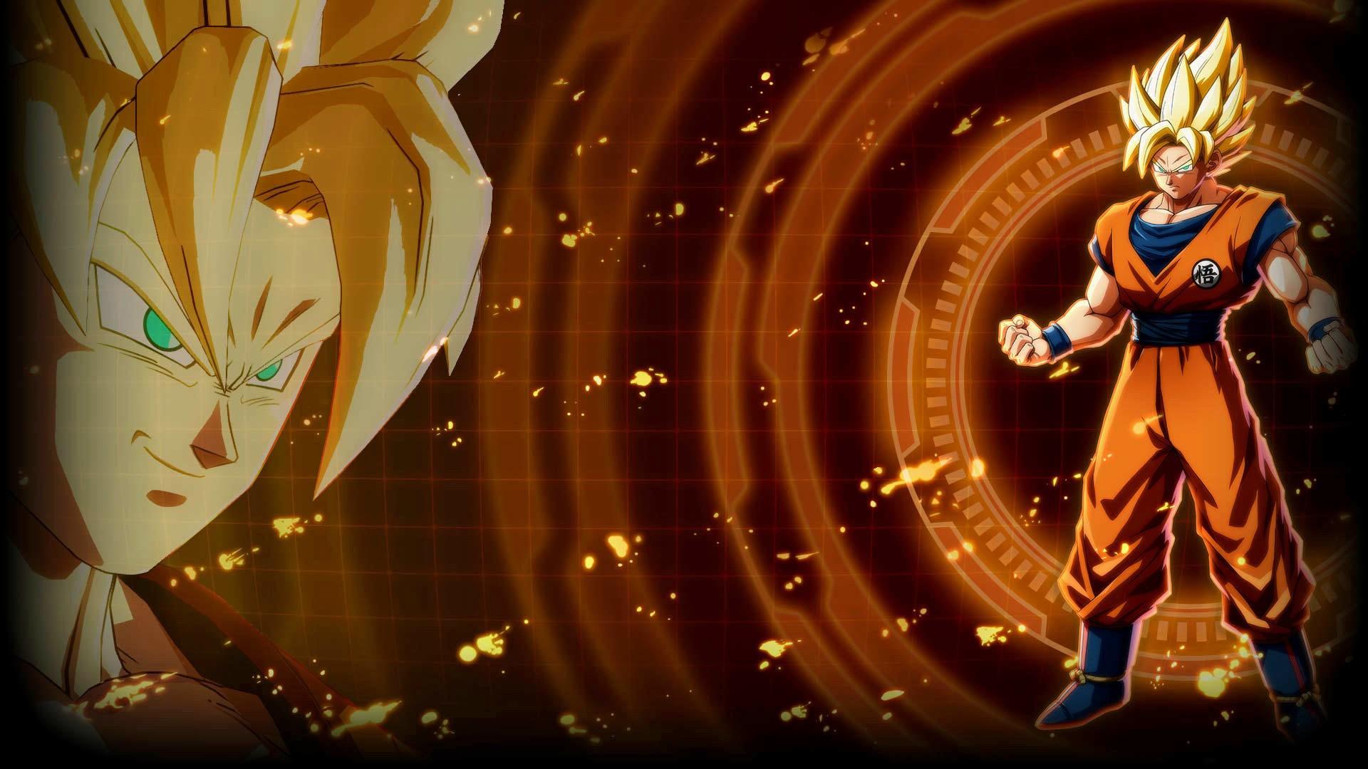 Dragon Ball Z 3d Wallpaper Download Dragon Ball Fighterz Goku Wallpapers Hd Wallpapers Id