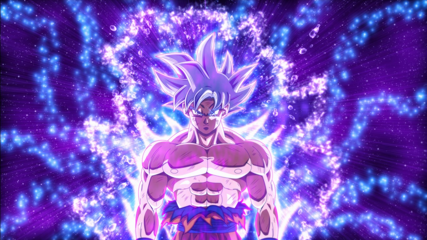 Hd Wallpapers For Iphone X Dragon Ball Super Goku Ultra Instinct 4k Wallpapers Hd
