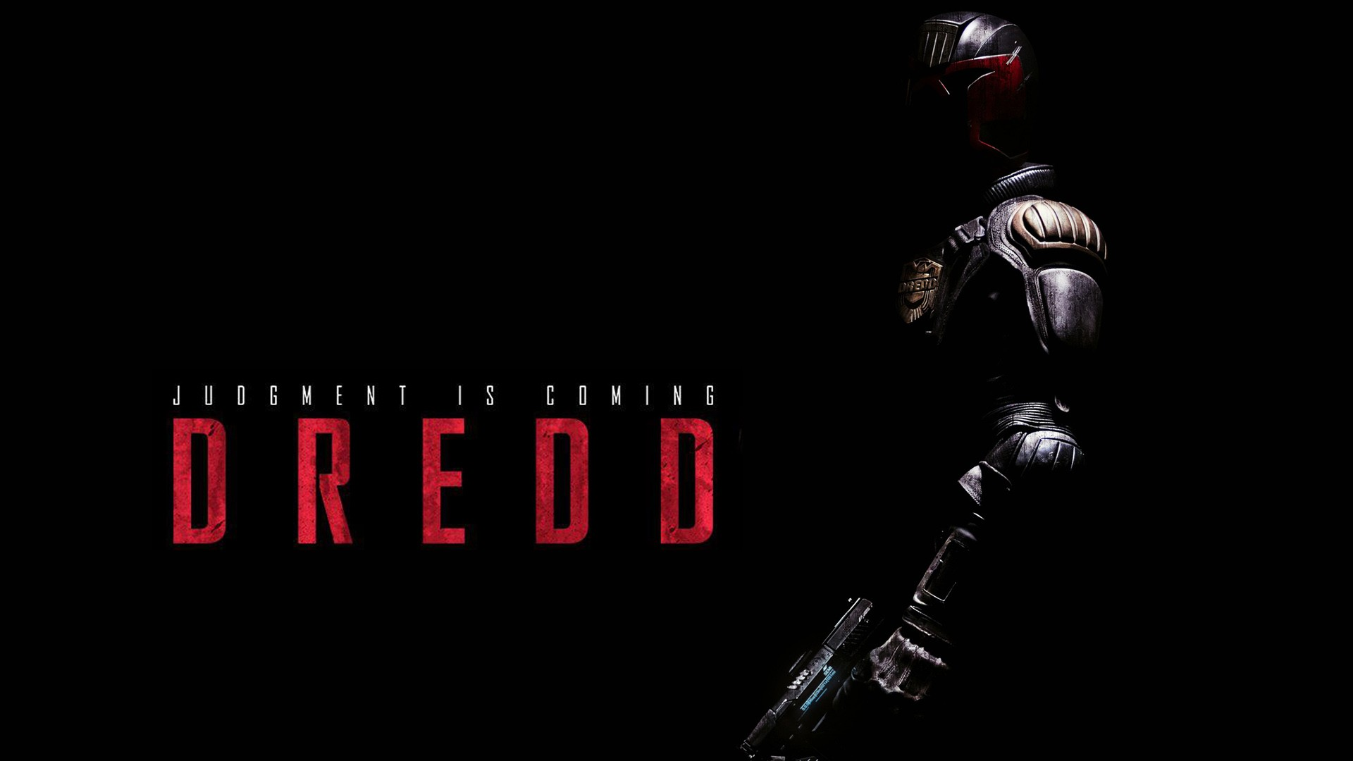 Deadpool Logo Wallpaper Hd Dredd 2012 Movie Wallpapers Hd Wallpapers Id 11517