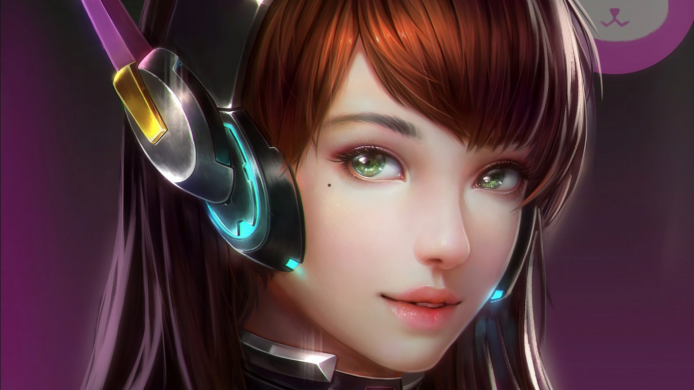 Girl Wallpaper Hd 2018 Dva Overwatch Wallpapers Hd Wallpapers Id 23746