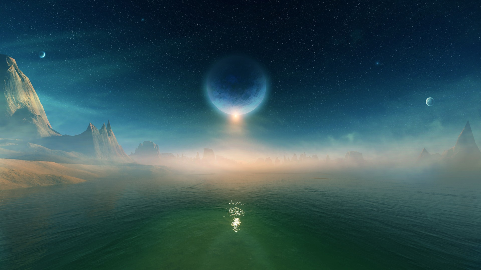 Hd Wallpapers For Widescreen Monitor Eclipse Galaxy Wallpapers Hd Wallpapers Id 16691