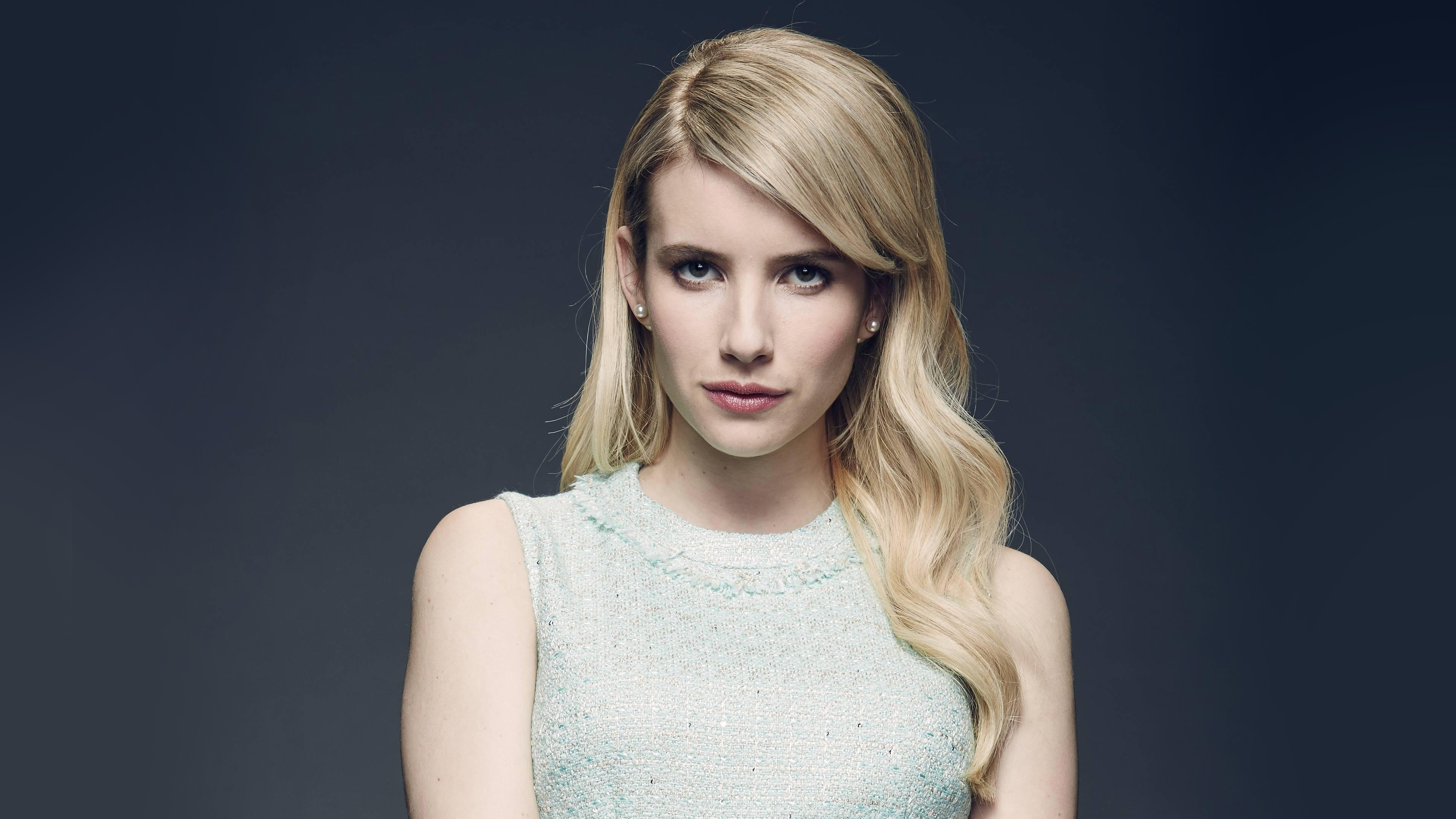3d Ghost Wallpaper Download Emma Roberts Scream Queens 4k Wallpapers Hd Wallpapers
