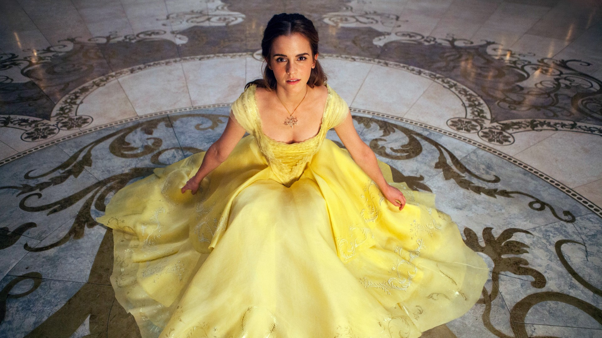 Hd Wallpaper Iphone X Emma Watson Belle Beauty And The Beast Wallpapers Hd